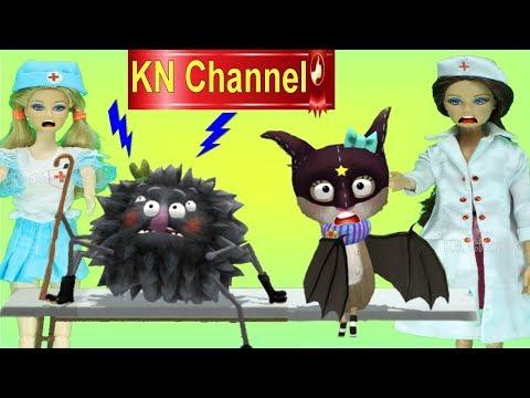 BÚP BÊ KN Channel LÀM BÁC SĨ CHỮA BỆNH CHO THÚ CƯNG VUI NHỘN | DOCTOR FOR PETS 2