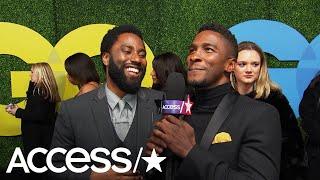John David Washington Reveals How He & Denzel Reacted To His Golden Globe Nom | Access