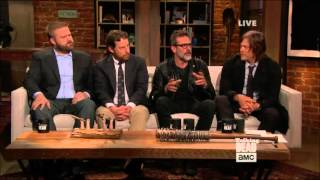 Talking Dead - Scott M. Gimple & Jeffrey Dean Morgan on TWD cast