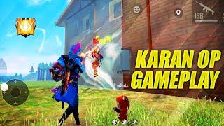 Karan OP Gameplay Playing Like Headshot Hacker | Garena Free Fire King Of Factory - P.K. GAMERS