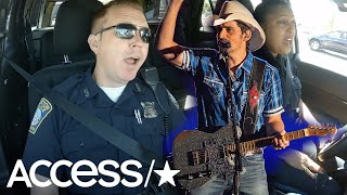 Police Officers In Viral 'Cop Pool Karaoke' Video Sing At Brad Paisley Concert
