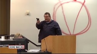 Heroes act to save others as gunman shoots up school board meeting (Pt 1) - Crime Watch Daily