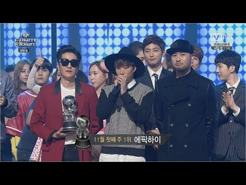 EPIK HIGH - '헤픈엔딩(HAPPEN ENDING)' (Feat. MINZY of 2NE1) 1106 M COUNTDOWN : NO.1 OF THE WEEK