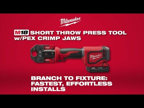 Milwaukee® M18™ Short Throw Press Tool