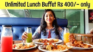 Unlimited Lunch Buffet for Rs 400 only | Italian Continental Mexican | Pot Pourri | Mumbai Food