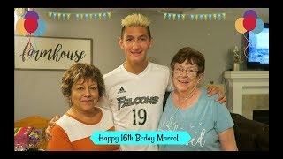 HAPPY 16TH BIRTHDAY MARCO! / VLOG
