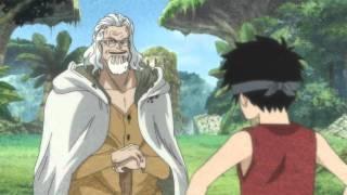 One Piece - Momento en que Rayleigh recuerda a Luffy !!