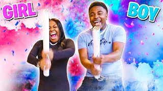 THE OFFICIAL BABY GENDER REVEAL OF DRE AND KEN!!!