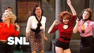Delinquent Girl Teen Gang - Saturday Night Live