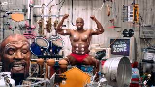 Terry Crews Old Spice Muscle Music commercial