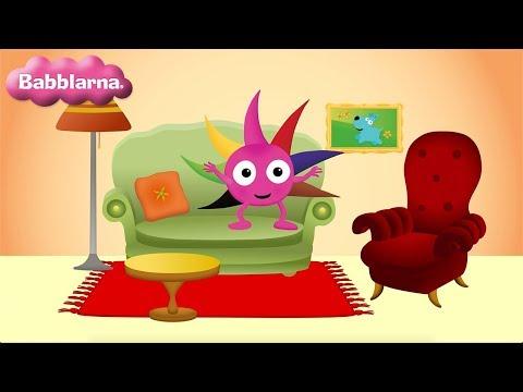 Möbler - Språklek med Babblarna (Diddi)