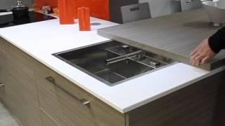 meuble cuisine avec plan de travail coulissant plan de travail cuisine. Black Bedroom Furniture Sets. Home Design Ideas
