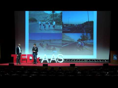 A Unique Solution For Israeli  Stability: Jonas Becker & Hans Rusinek At TEDxAAS - Smashpipe Nonprofit