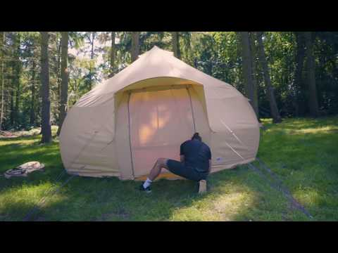 Boutique Camping Tents 4m Luna Rundzelt Rainbow