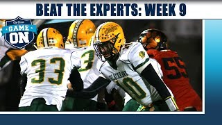 Beat the Experts: Week 9