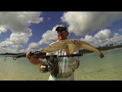 Fish That Snag - Coongul Creek Fraser Island Flathead Stalking