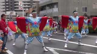 よさこい東海道2013 本祭【本町審査会場】ALL☆STAR