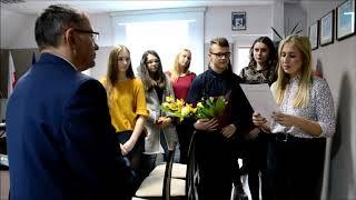 Pożegnanie ustępującego po kadencji 2014-2018 burmistrza Węgorzewa Krzysztofa Piwowarczyka, sesja wę