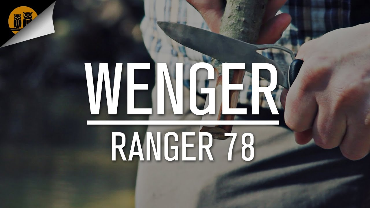 Wenger Ranger 78 Swiss Army Knife Review Youtube