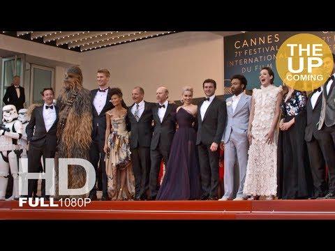 Solo: A Star Wars Story red carpet arrivals & photocalls in Cannes: Emilia Clarke, Alden Ehrenreich