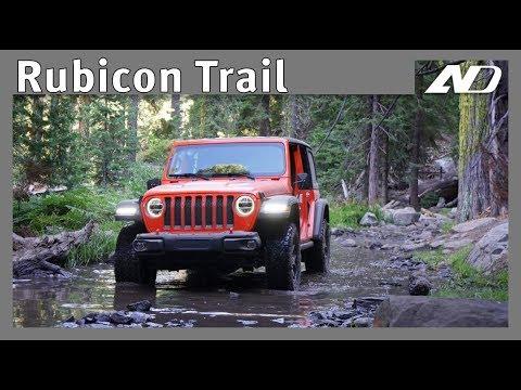 Rubicon Trail con Jeep Wrangler - Un retiro todo terreno!
