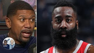 James Harden's 'hero ball' won't work for the Rockets in the playoffs - Jalen Rose | Jalen & Jacoby