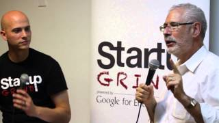 Steve Blank (Four Steps to the Epiphany) at Startup Grind New York