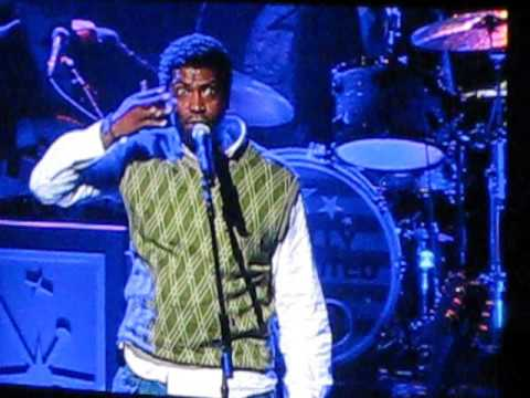 Deon Cole performs live at the Conan O'Brien Tour on April 25, 2010