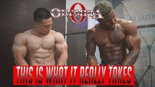How To Get Massive Shoulders With IFBB Pro Joseph Lee | Road To Olympia