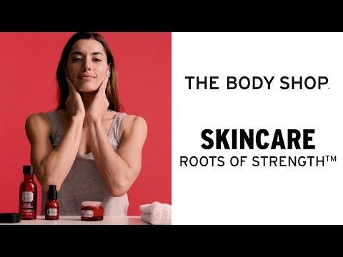 SKYDDA HUDEN MED ROOTS OF STRENGTH™– THE BODY SHOP