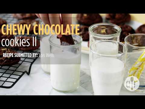 How to Make Chewy Chocolate Cookies | Cookie Recipes | Allrecipes.com