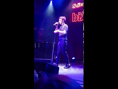 Nathan Sykes - Thinking Out Loud @ Brooklyn Bowl, The Sun gig