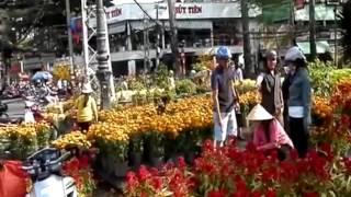 Tết buồn cho những người bán hoa, quả