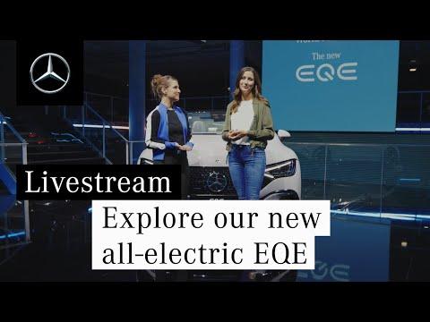 Entdeckt unseren neuen vollelektrischen EQE