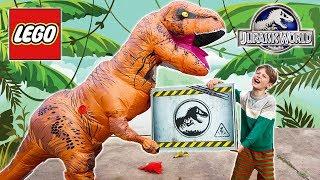 LEGO Jurassic World T-Rex MONSTER Dinosaur Treasure!