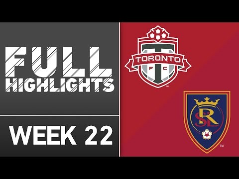 HIGHLIGHTS: Toronto FC 1-0 Real Salt Lake