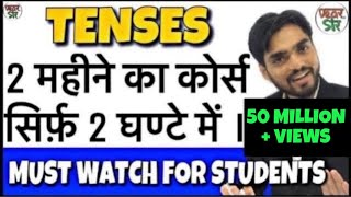 Learn Tenses in English Grammar with Examples   Present Tenses, Past Tenses, Future Tenses
