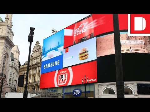 Do It Day 2016 | Ads Go Live In Piccadilly Circus