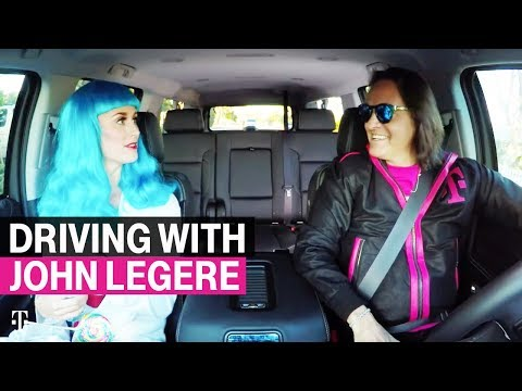 Driving with T-Mobile CEO John Legere