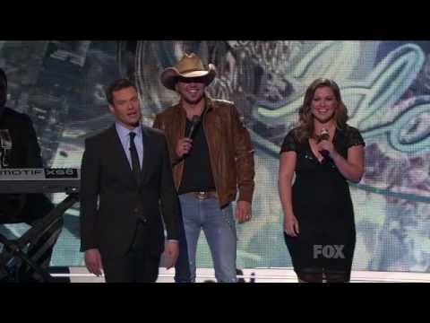 (HD) Jason Aldean ft Kelly Clarkson - Don't You Wanna Stay Live American Idol Vocal Showcase