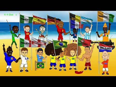 Piala Dunia Xtra Time  - Lucu Abis! Piala Dunia 2014 Dalam Format Kartun (Galeri Video)