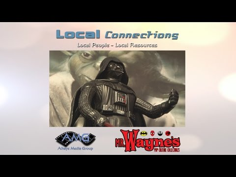Local Connections by Alkaye Media - Mr.  Wayne's Pop Culture Collectibles (Westmont, IL)