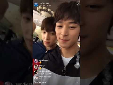 K-RUSH Instagram Live with The Boyz(더보이즈)