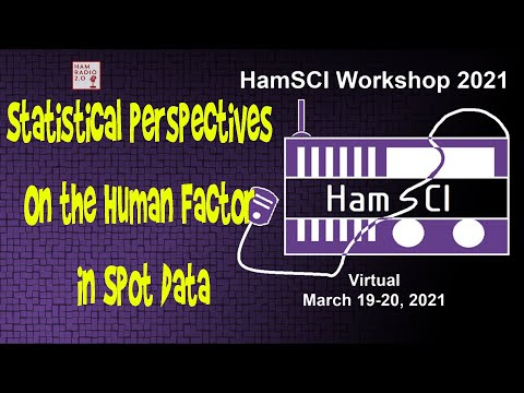 HamSci 2021: Statistical Perspectives On the Human Factor in Spot Data from RBN and WSPR Networks