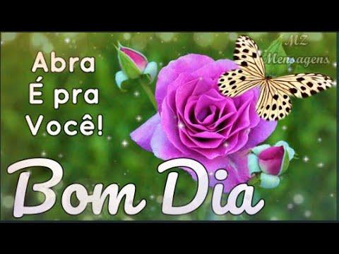 Bom dia / Feliz Segunda / Que hoje não falte a fé e a alegria / Deus te abençoe / Linda Mensagem