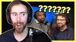 """Asmongold Reacts to an """"AMAZING"""" Debate with Destiny on LIVE Radio Show"""