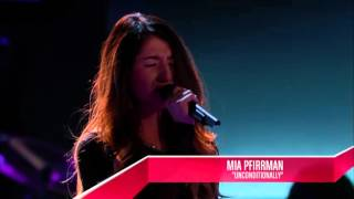 Mia Pfirrman - Unconditionally | The Blind Audition | The Voice 2014