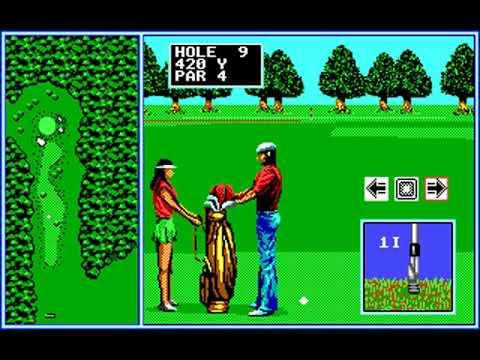Tournament Golf (Round 12) (SEGA Enterprises) (MS-DOS) [1990]