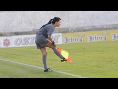 Најзгодниот фудбалски судија во светот: Србинката Александра Милојевиќ
