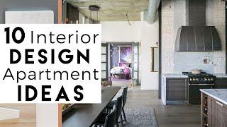 Small Apartment  | TOP 10 Interior Design IDEAS